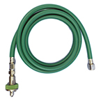 Oxygen Hose, 6 ft, w/Ohmeda Style Quick Connect Coupler x DISS O2, Conductive