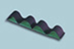 Elastic Strip Unit, Attaches To Any Velcro Loop Surface, Green, Four Loop