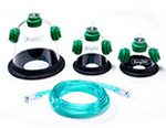 Recovery Oxygen Mask Kit, includes 1 of each size - SM, MED, LG
