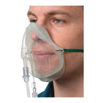 Sentri EtCO2, Medium Concentration Mask, With CO2 Monitoring Line and Tube, 2.1m, Adult