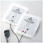 Physio Control Edge System Quik Combo Electrodes, Adult