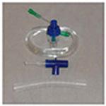 Nebulizer Set, w/Small Volume Nebulizer, Mouthpiece, Flex Tube, 7 ft tubing, T-Connector
