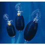 Resuscitation Device, Valve, w/Mask, Variable Volume Oxygen Reservoir Tubing, Pediatric