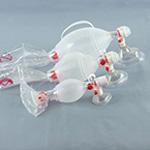 SPUR II BVM, Infant, w/Tube Reservoir, Medication Port, PediCap CO2 Detector, Infant Mask