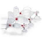 SPUR II BVM, Infant, w/Bag Reservoir, PediCap CO2 Detector, Infant Mask