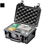 Pelican 1120 Case, 7.25inch x 4.75inch x 3.06inch, Black w/Pick N Pluck Foam