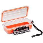 Field Box, Guide PC 3500, Small, Waterproof, TPR Lining, 9inch x 4.88inch x 3inch, Orange