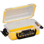 Field Box, Guide PC 3600, Medium, Waterproof, TPR Lining, 11inch x 7.25inch x 4inch, Yellow
