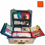 Thomas BLS Hard Case, 20 1/2inch x 16 3/4inch x 8 1/2inch, Orange