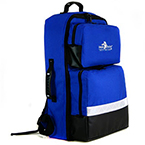 BLS Backpack, Color Coded Pouches, O2 Compartment, Navy Blue