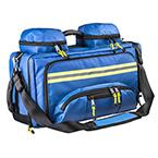 Curaplex® Advanced EMS Bag, Anti-bacterial Impervious, Blue