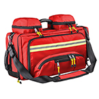 Curaplex® Advanced EMS Bag, Anti-bacterial Impervious, Red