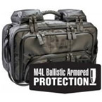 OMNI PRO, BLS/ALS Total System with Ballistic Panel, Tactical Black, TS2 Ready