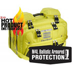 OMNI PRO, BLS/ALS Total System w/ Ballistic Panel, Infection Control, TS2 Ready, HiVis Yellow