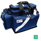 Trauma/Oxygen Deployment Bag, 23inch L x 13 1/2inch W x 14inch D, Green