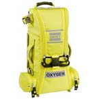 RECOVER™ PRO O2 Response Bag, Infection Control, TS2 Ready, Extended Height, Yellow