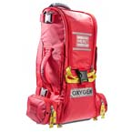 RECOVER? PRO O2 Response Bag, Infection Control, TS2 Ready™, Extended Height, Red
