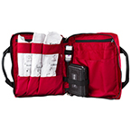 Deluxe King Vision aBlade, Supply Bag with Pockets, Red