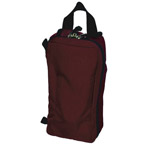 Propak IV Module, 4 3/4 Inches Long x 9 1/2 Inches Wide x 3 1/2 Inches, Burgundy, No Contents