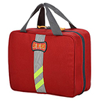 StatPacks Infusion Medication Case, Red, 14 in X 11.5 in X 7 in