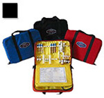 Thomas EMS Aeromed Drug Kit, 13inch x 9inch x 3 1/2inch, Black