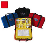 Thomas EMS Aeromed Drug Kit, 13inch x 9inch x 3 1/2inch, Red