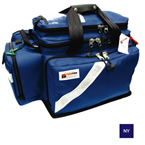 Trauma/Oxygen Deployment Bag, 23inch L x 13 1/2inch W x 14inch D, Navy