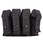 TITANCARE QUAD TOURNIQUET POUCH, BLACK