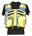 Statpacks Replacement Name Plate, for G2 MCI Vest, EMS