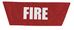 Statpacks Replacement Name Plate, for G2 MCI Vest, Fire