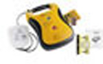 Lifeline AED Package, Defibrillator, Battery Pack, Adult Defibrillation Pads, 9 Volts