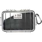 Pelican 1040 Micro Case, 6.50inch x 3.87inch x 1.75inch, Clear w/Black Liner