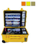 Thomas Clima-Tech Climate Controlled EMS Case, 14inch x 13inch x 6inch, Yellow