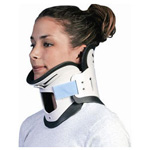NecLoc Cervical Collar, 2 Piece, Disposable, Adult SM