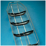 Lightweight Basket Type Stretcher, 80 1/2inch  L x 8  inch H