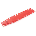 NAJO RediHold Backboard, without Pins, Red, 16 Lbs, 72 in X 16 in X 2 in
