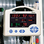 CAS 740-3NN Vital Signs Monitor w/MAXNIBP, Nonin SpO2, FasTemp, AC, Battery *Discontinued*