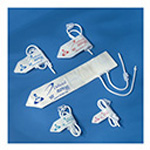 DeRoyal BP Cuff, Neonate, Disposable, Slip Coupling, Size 2, 4-8cm