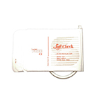 StatCheck BP Cuff, Single Tube, Soft Fabric, Disposable, Female Luer Connections, 18-26cm, SM Adult