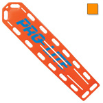 PRO-LITE Spineboard, w/Pins, 72inch Long x 16inch Wide x 2 1/4inch Deep, Orange*Discontinued*