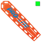 PRO-LITE Spineboard, w/Pins, 72inch Long x 16inch Wide x 2 1/4inch Deep, Neon Green*Discontinued*