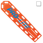PRO-LITE Spineboard, w/Pins, 72inch Long x 16inch Wide x 2 1/4inch Deep, White*Discontinued*