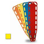 Xtra Backboards, 14 Pins, 71inch L x 15.75inch W x 1.85inch D, Yellow