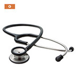 Adscope 603 Stethoscope, Adult, Orange