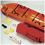 Sked Basic Rescue System, with Carry Case, International Orange