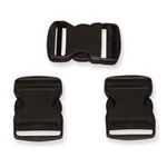 Strap-Pak Buckle Kit, Replacement, 3 Pieces