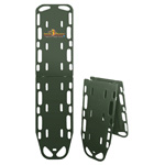 Ultra Spac-Sav Backboard, 72inch x 16inch x 2inch Standing, With Pins, Olive Drab