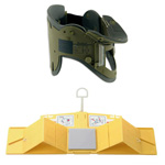 Head Wedge Combination Pack, incl 1 Head Wedge and 1 Adult Perfit Ace Adj Collar, Military Version