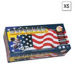 Defender Gloves, Nitrile, Powder Free, Textured Finger Tips, Slate Blue, 10inch, XSM