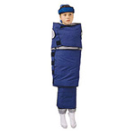 Olympic Papoose Board, Canvas Flap, Adjustable Velcro Straps, Children Age 6 - 12, Large